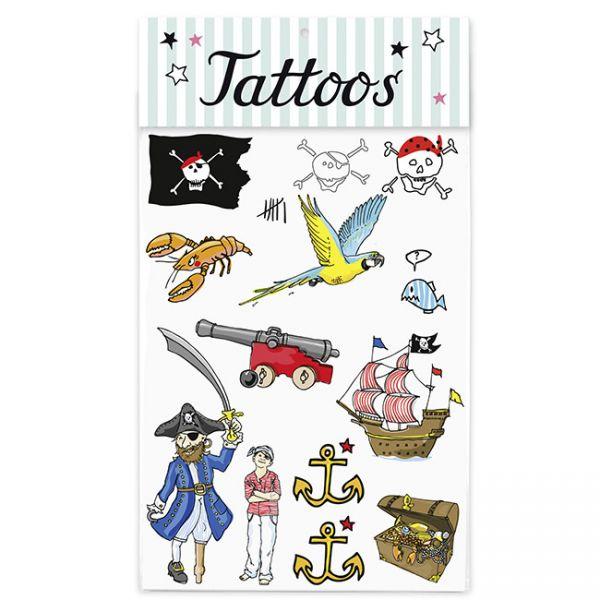 krima&isa Kinder Tattoos Pirat