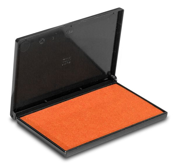 Stempelkissen orange