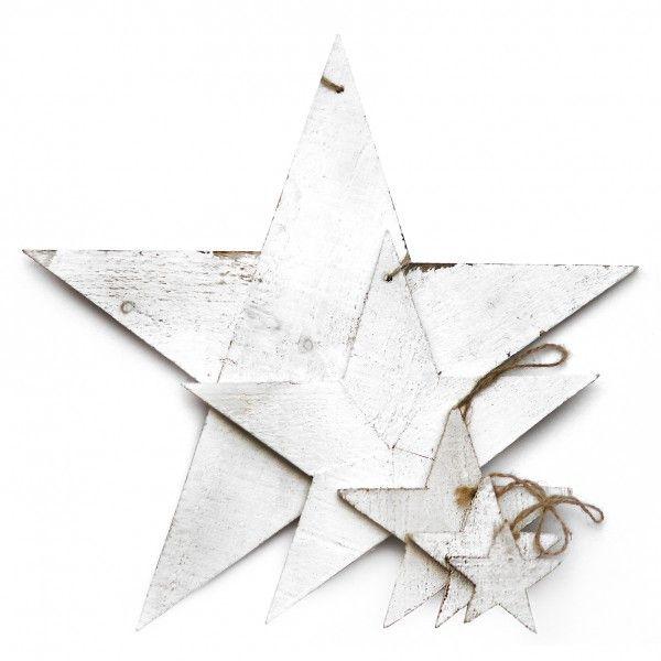 Stern aus Holz von Tafelgut, XS