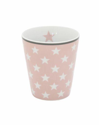 Tasse mit Sternen, rosa