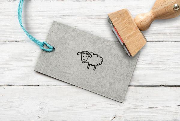 Stempel Schaf