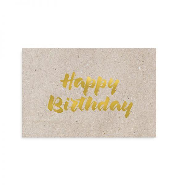 """Postkarte """"Happy Birthday"""" von Tafelgut"""