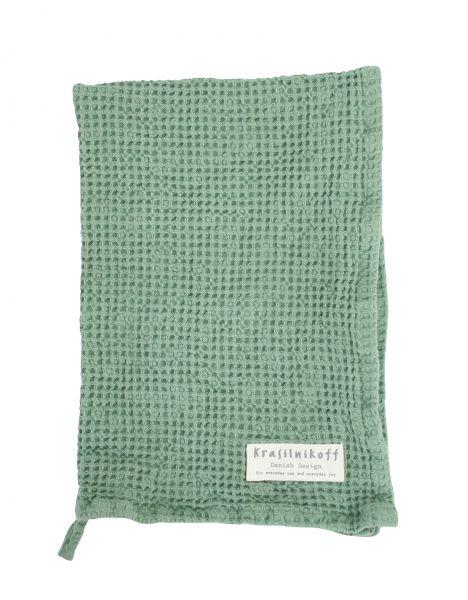 Handtuch/Geschirrtuch, Waffelstruktur, mintgrün
