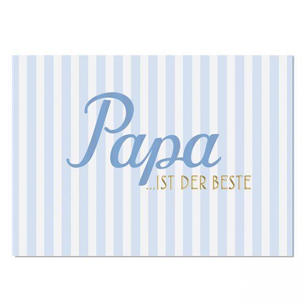 krima&isa Postkarte Bester Papa