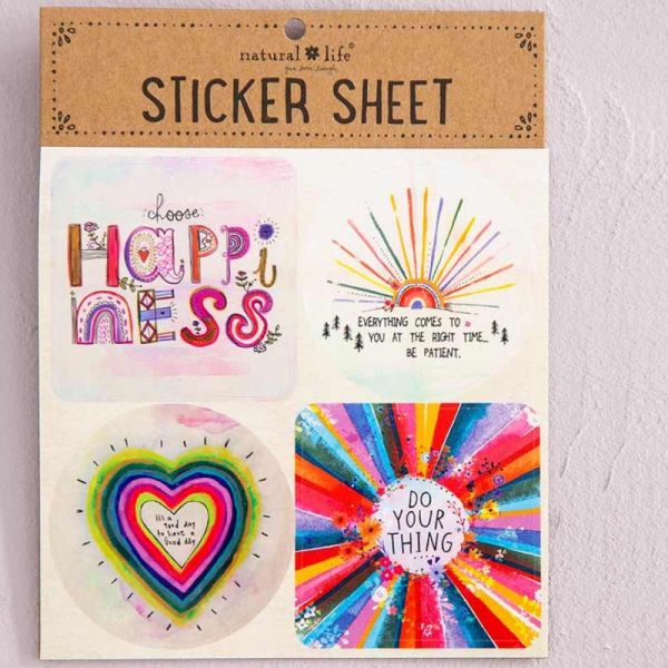"""Stickers """"Choose Happiness"""""""