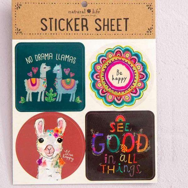 "Stickers ""No drama Llamas"""