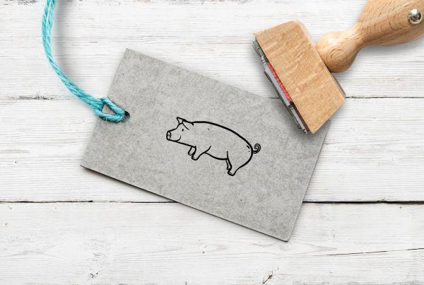 Stempel Schwein
