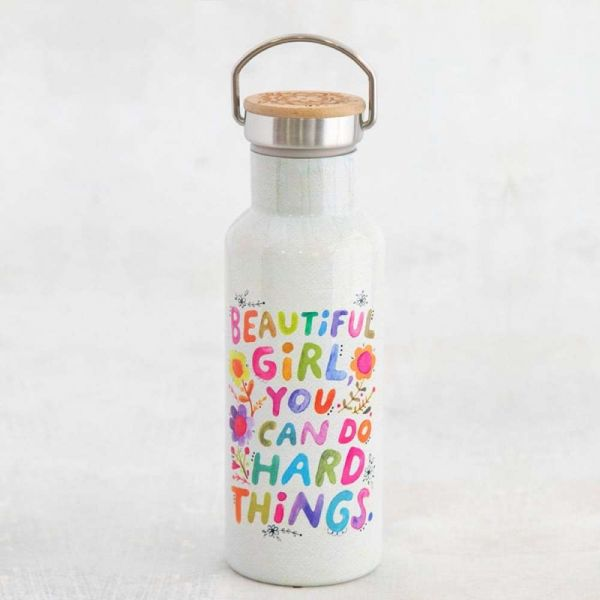 """Thermosflasche """"beautiful girl"""""""