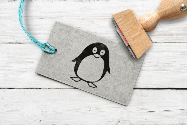 Stempel Pinguin