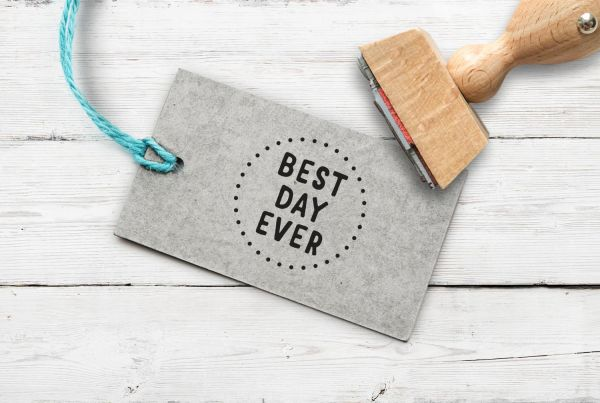 """Stempel """"best day ever"""""""