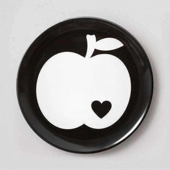 byGraziela Melamin Teller, Apfel groß