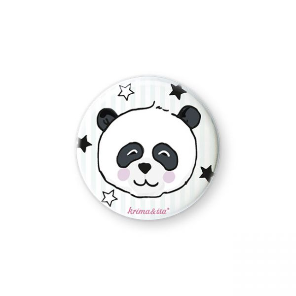 krima&isa Button Panda