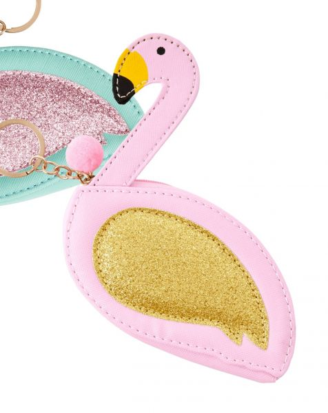 Täschchen/Geldbeutel Flamingo/Schwan, rosa