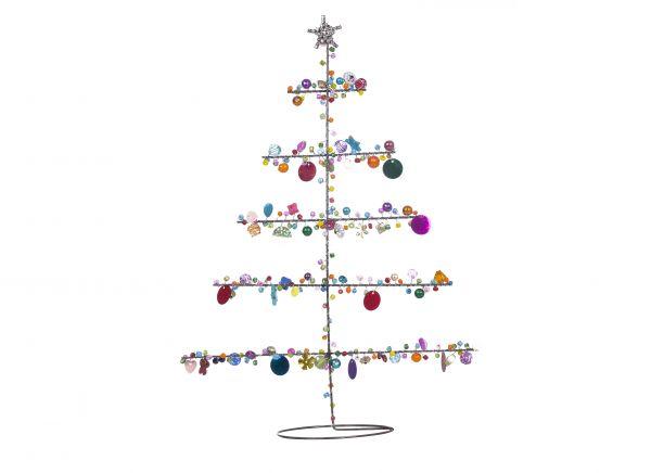 Tannenbaum mit Perlen
