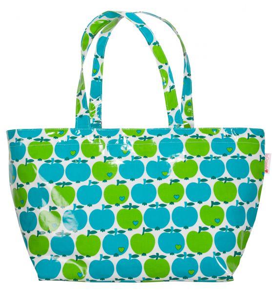 byGraziela Apfel Shopper blau/grün
