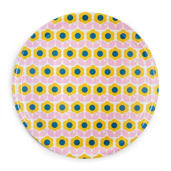 byGraziela Tablett, Blumen rosa-gelb