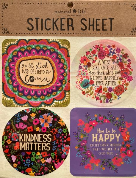"""Stickers """"go for it"""""""