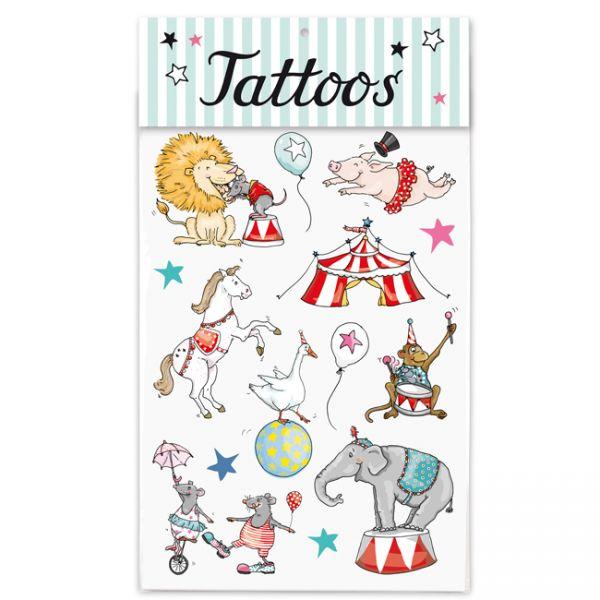 krima&isa Kinder Tattoos Zirkus