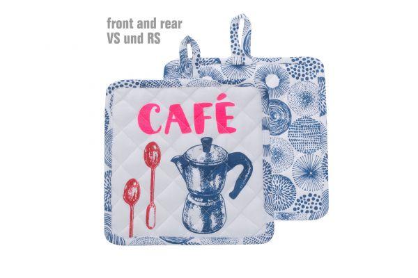 Topflappen Café (1Stück)