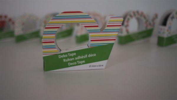 Deko-Tape, Streifen