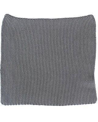 Wischlappen gestrickt, grau
