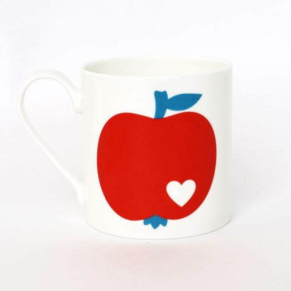 byGraziela Tasse/Becher Apfel rot