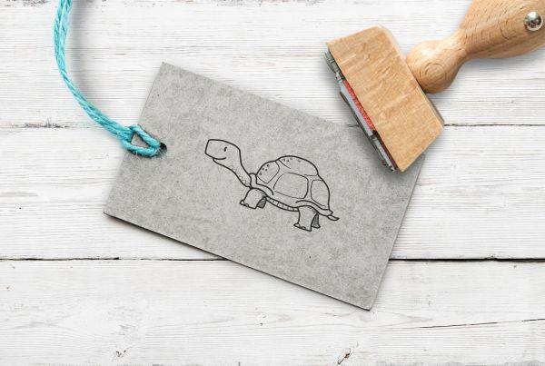 Stempel Schildkröte 2