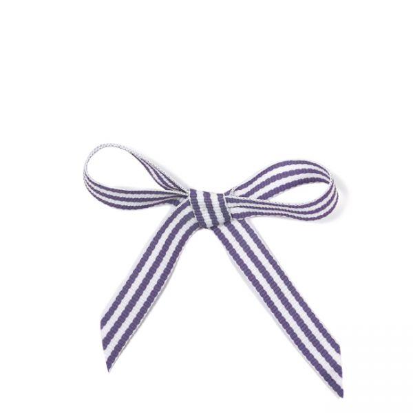 krima&isa Schleifenband im Tütchen lila gestreift