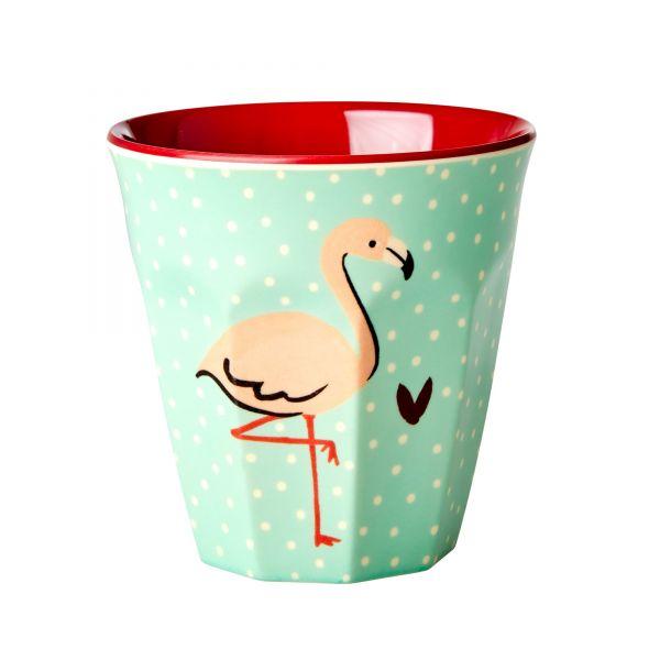 Becher Flamingo (Personalisierung möglich)