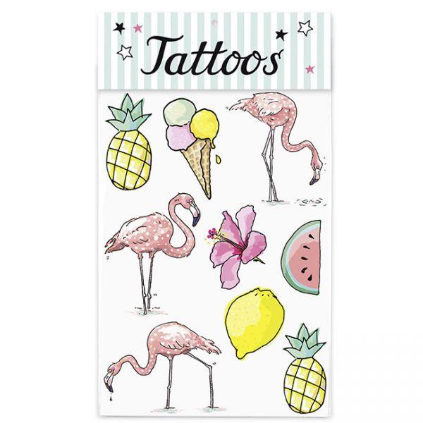 krima&isa Kinder Tattoos Tropical