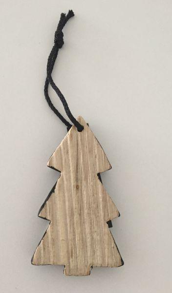 Anhänger von Bloomingville aus Holz, Tannenbaum
