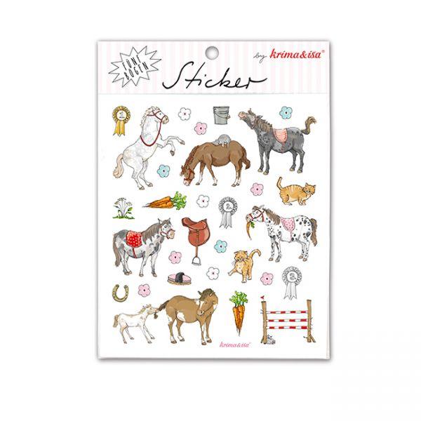 krima&isa Sticker Ponys