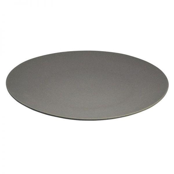 Platte/Teller aus Bambus, grau