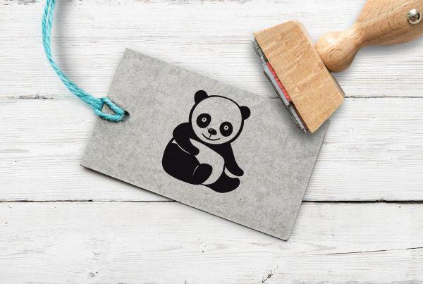 Stempel Pandabär