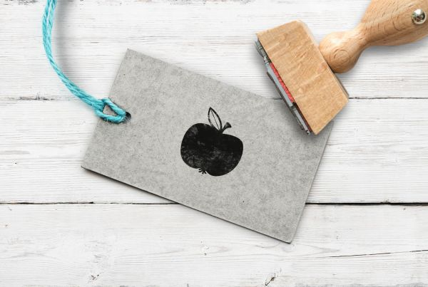 Stempel Apfel