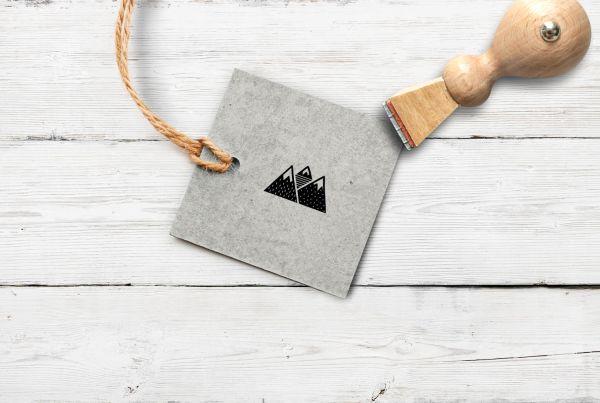 Stempel Gebirge 2, klein