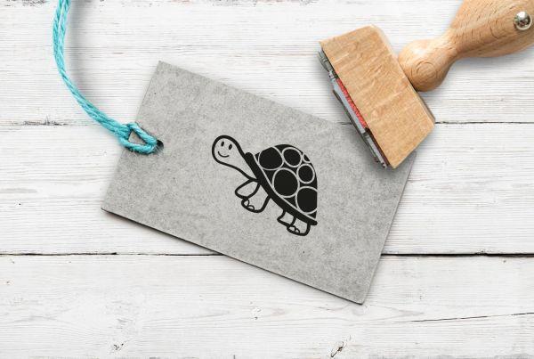 Stempel Schildkröte