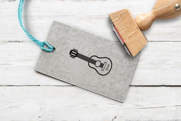Stempel Gitarre
