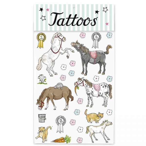 krima&isa Kinder Tattoos Ponys