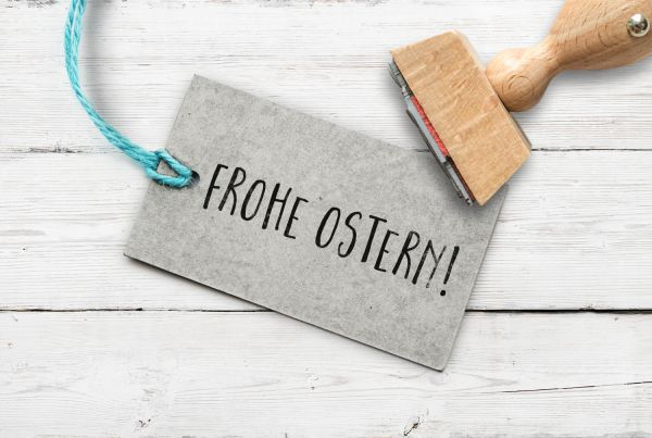 """Stempel """"Frohe Ostern"""""""