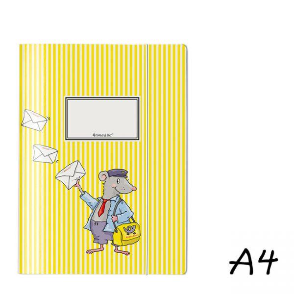 krima&isa Sammelmappe A4 Postmappe