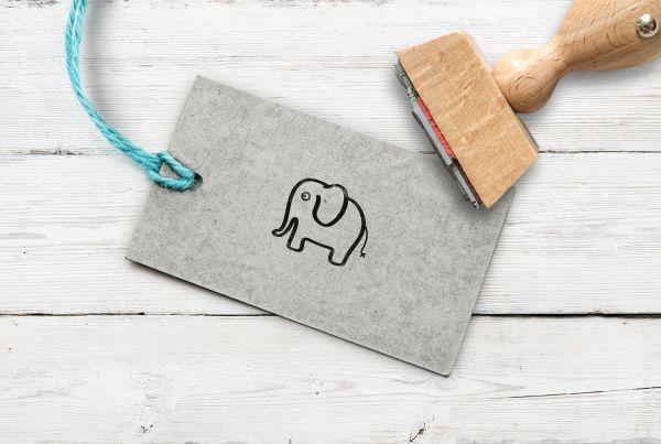 Stempel Elefant