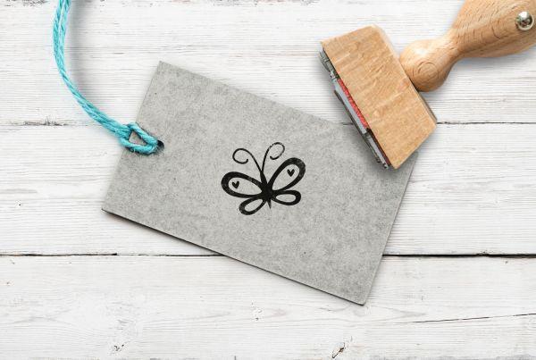 Stempel Schmetterling