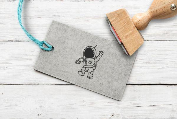 Stempel Astronaut