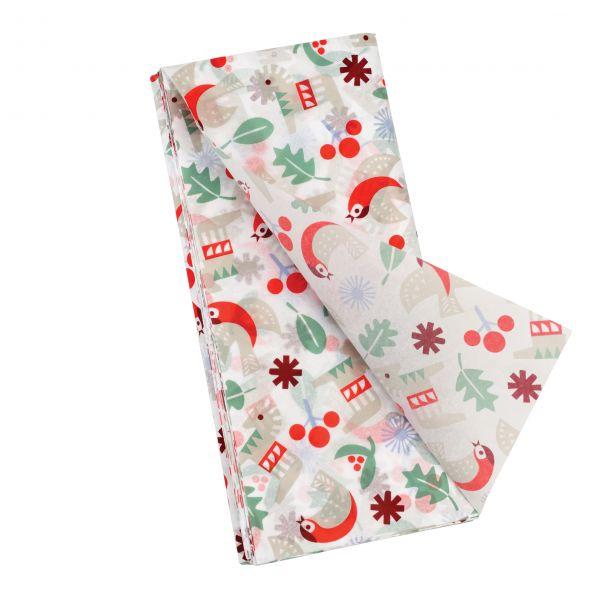 "Seidenpapier ""Nordic Christmas"", 10 Bögen"