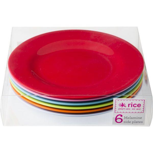 "Teller, 6er-Set ""bright classic colors"""
