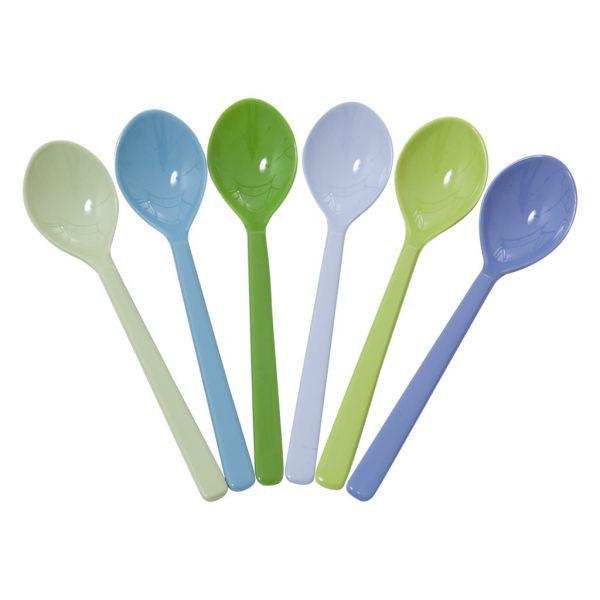 """Teelöffel, 6er-Set, """"blue und green"""""""