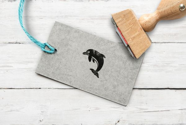 Stempel Delfin